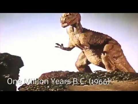 Evolution of Cinema Dinosaurs
