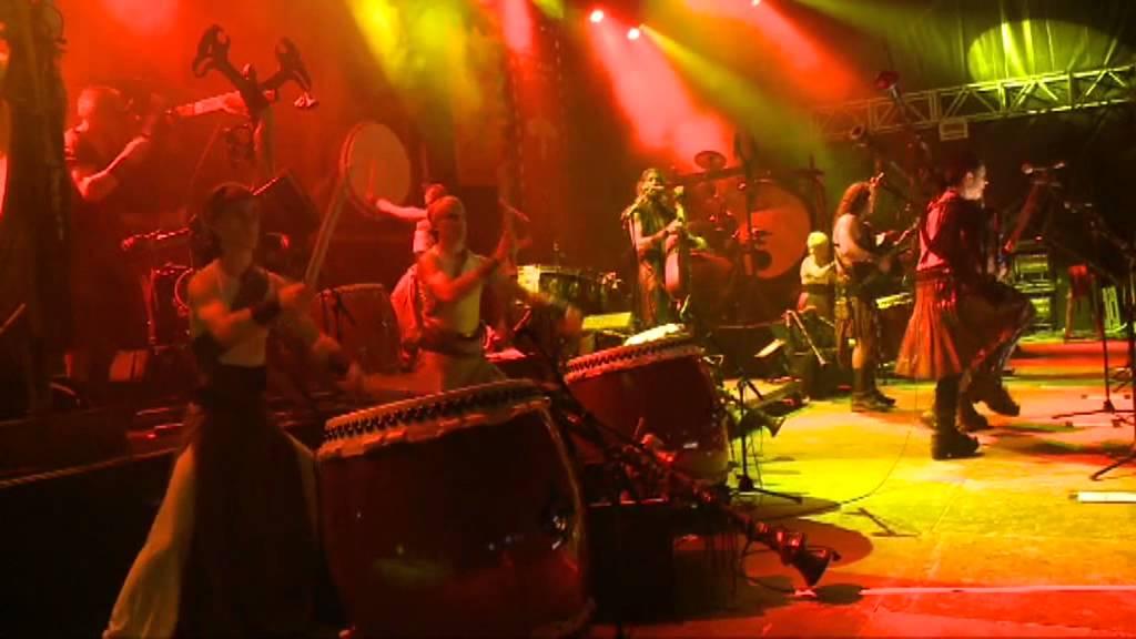 """Corvus Corax feat. Wadokyo - """"Havfrue"""" live at Summer Breeze 2012"""