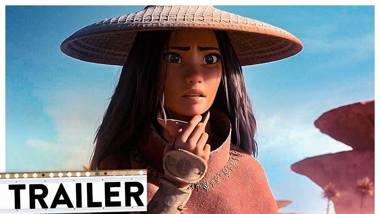 RAYA UND DER LETZTE DRACHE Trailer Deutsch German   Disney 2021